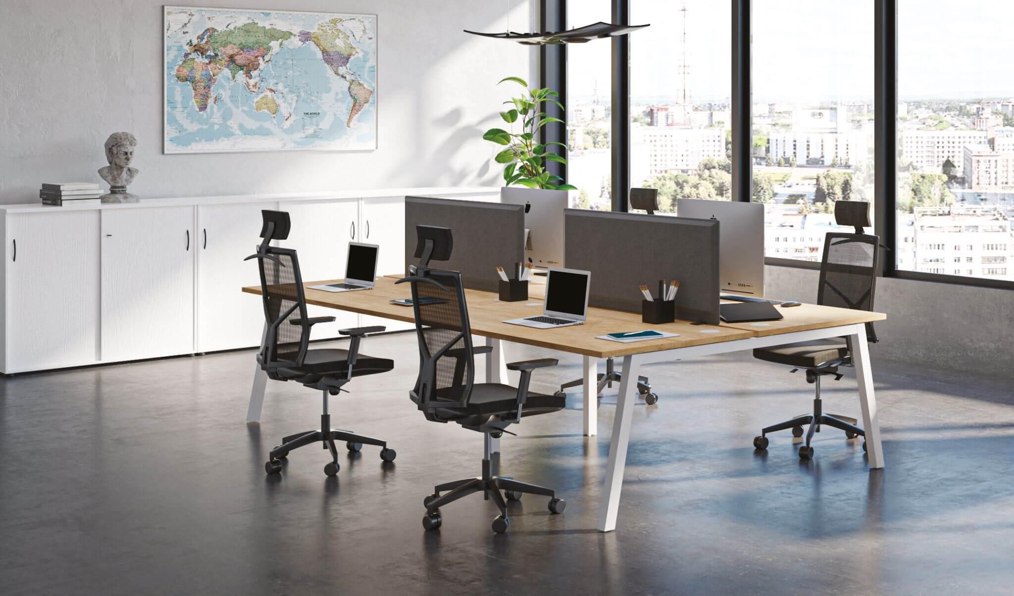 Espace de travail Bureau - Buronomic Partage