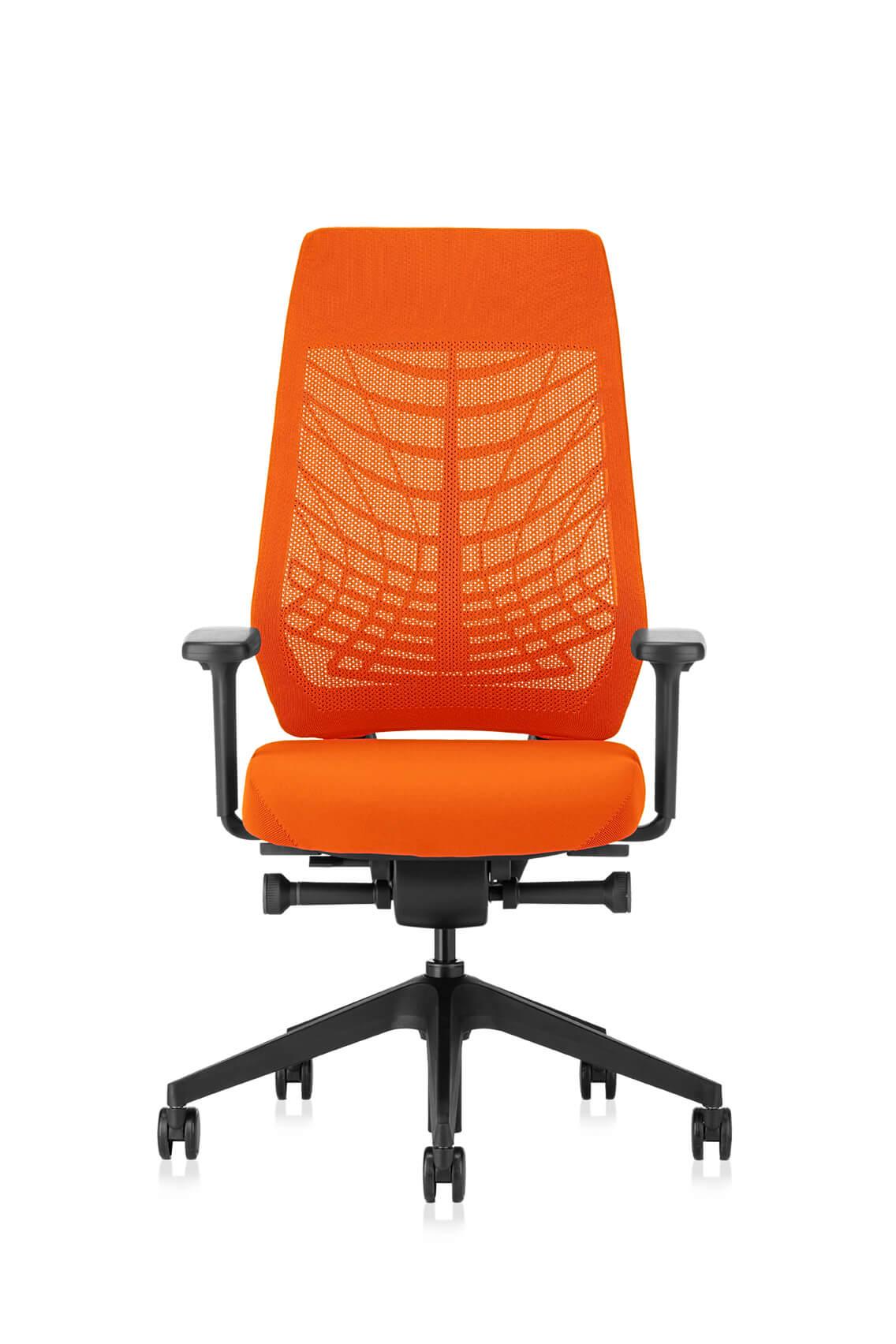 JOYCEis3_Frontal_jc217_Netz_orange_schwarz_flexgrid